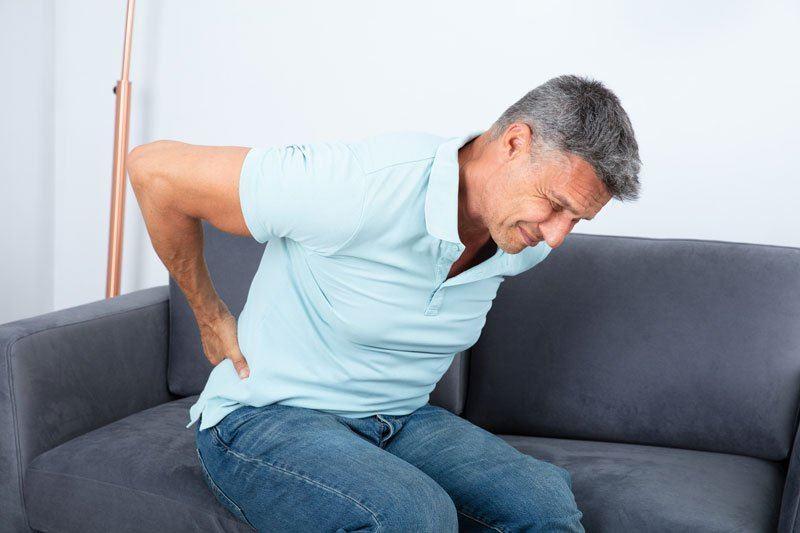 Image result for pinched nerve in back
